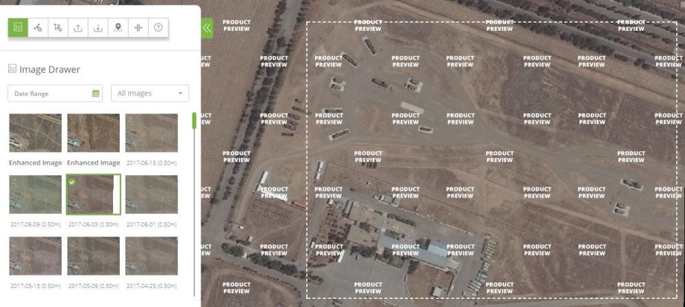 Позиции иранских С-300ПМУ-2 в районе Тегерана и Бушера