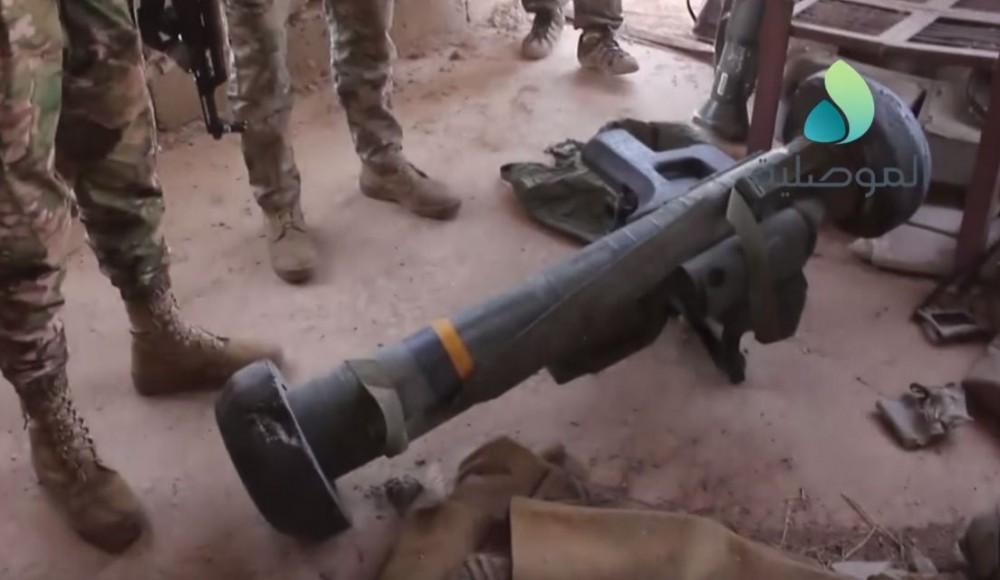 """Иракские войска захватили у """"Исламского Государства"""" ПТРК Javelin"""