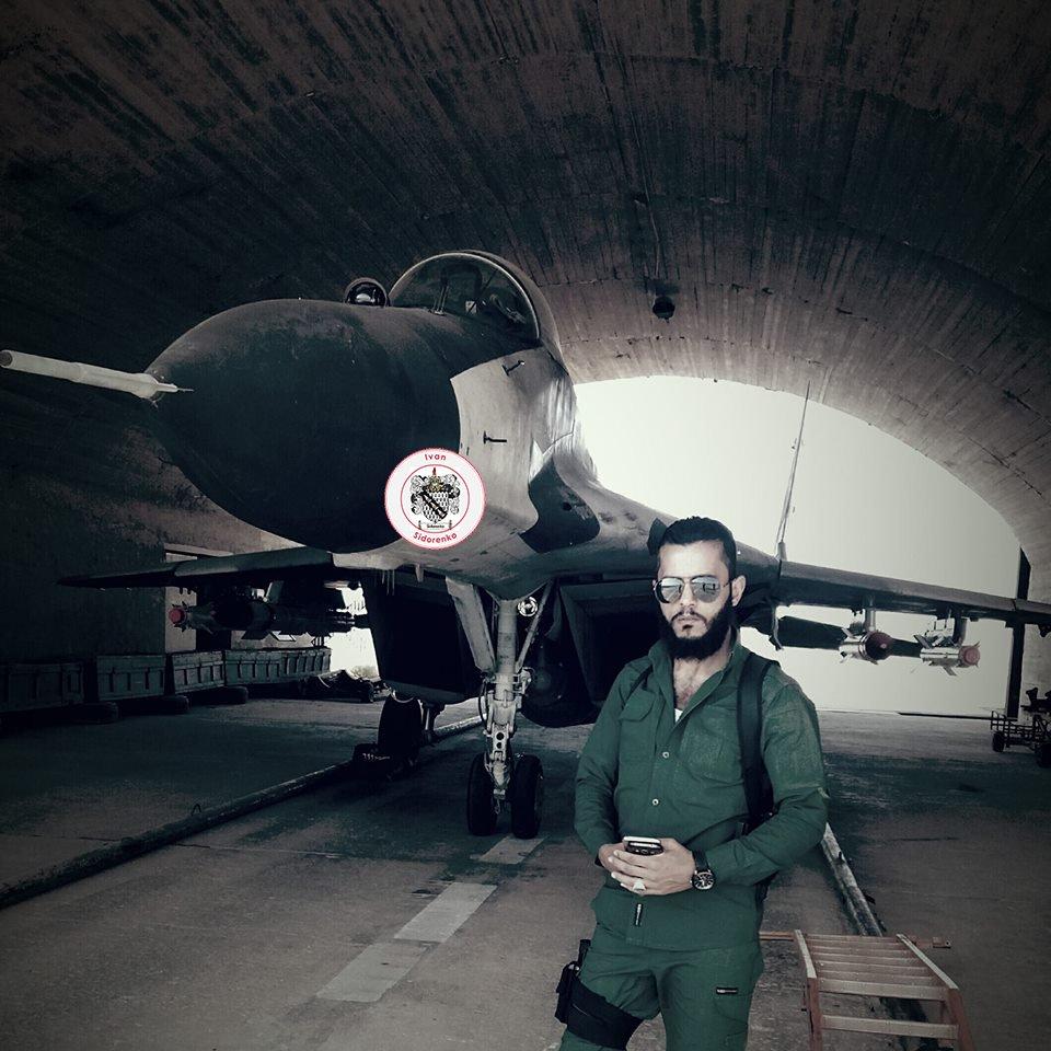Сирийский МиГ-29 с вооружением