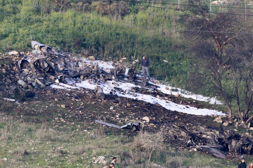 ПВО Сирии сбила израильский F-16