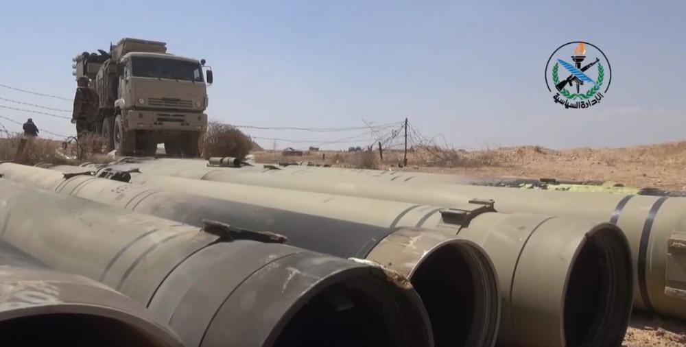 Сирийские зенитные системы Сирии, ПанцирьС1, похоже, варианте, БукМ2Э, кадры, Оригинал, первые, откудато, какогото, командного, пункта, модуля, пускового, ракет, Стрелец, много, писали, десять, назад