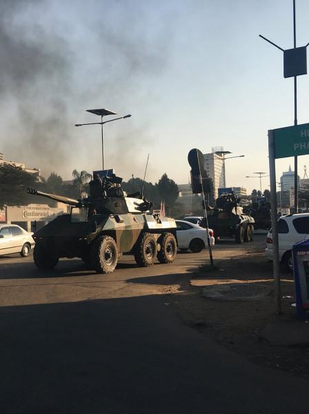 Зимбабве. Перестройка превратилась в перестрелку