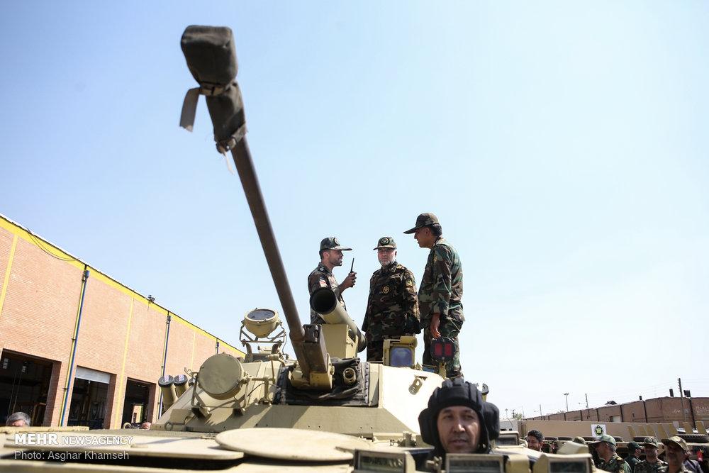 Выставка сухопутных войск иранской Армии