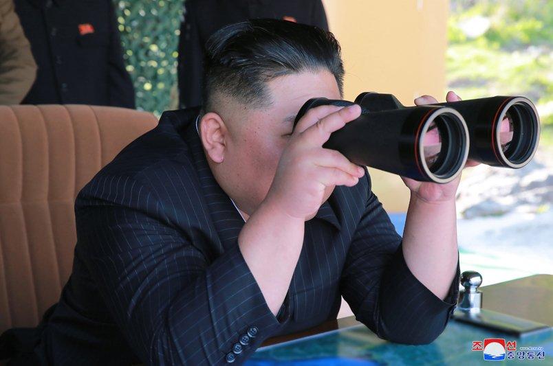 Новые ракетные пуски и артиллерийские стрельбы в КНДР переднем, участках, фронта, западном, частей, огневого, удара, оборонительных, партии, руководитель, высший, Уважаемый, нанесению, способность, ракет, крепко, разных, реагированию, пусковой, учения