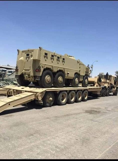 А вот и новые бронемашины для сил фельдмаршала Хафтара