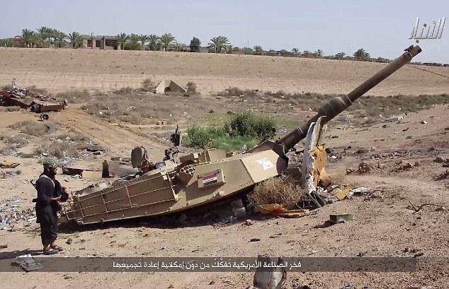 Бои за Анбар закончилось разгромом оборонявшихся частей иракской армии силами Исламского Государства