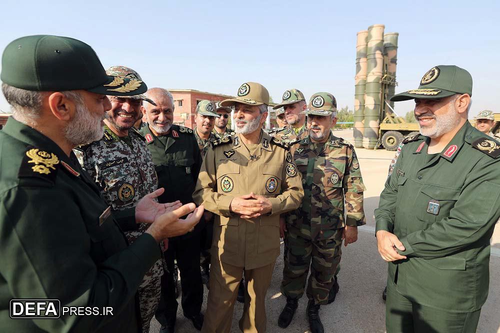Генерал Мусави посетил юго-западное командование ПВО в районе г.Омидийе