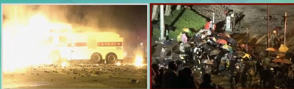 L'altra faccia della medaglia della rivolta pacifica di Hong Kong 11