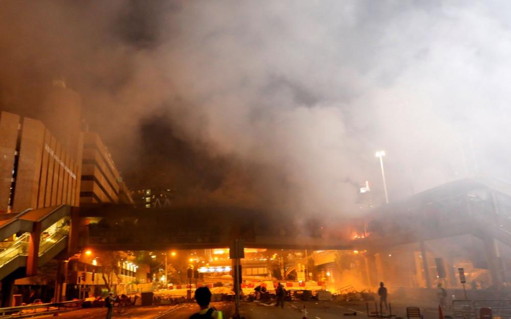 L'altra faccia della medaglia della rivolta pacifica di Hong Kong 16