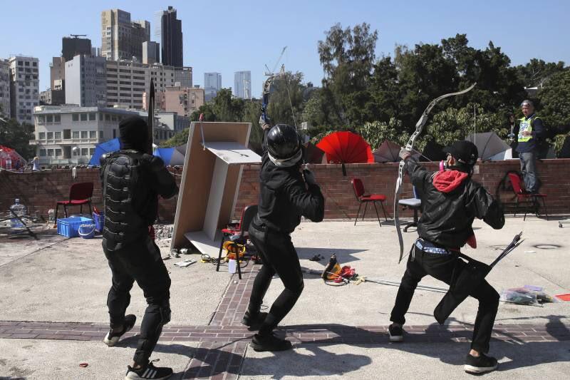 L'altra faccia della medaglia della rivolta pacifica di Hong Kong 3