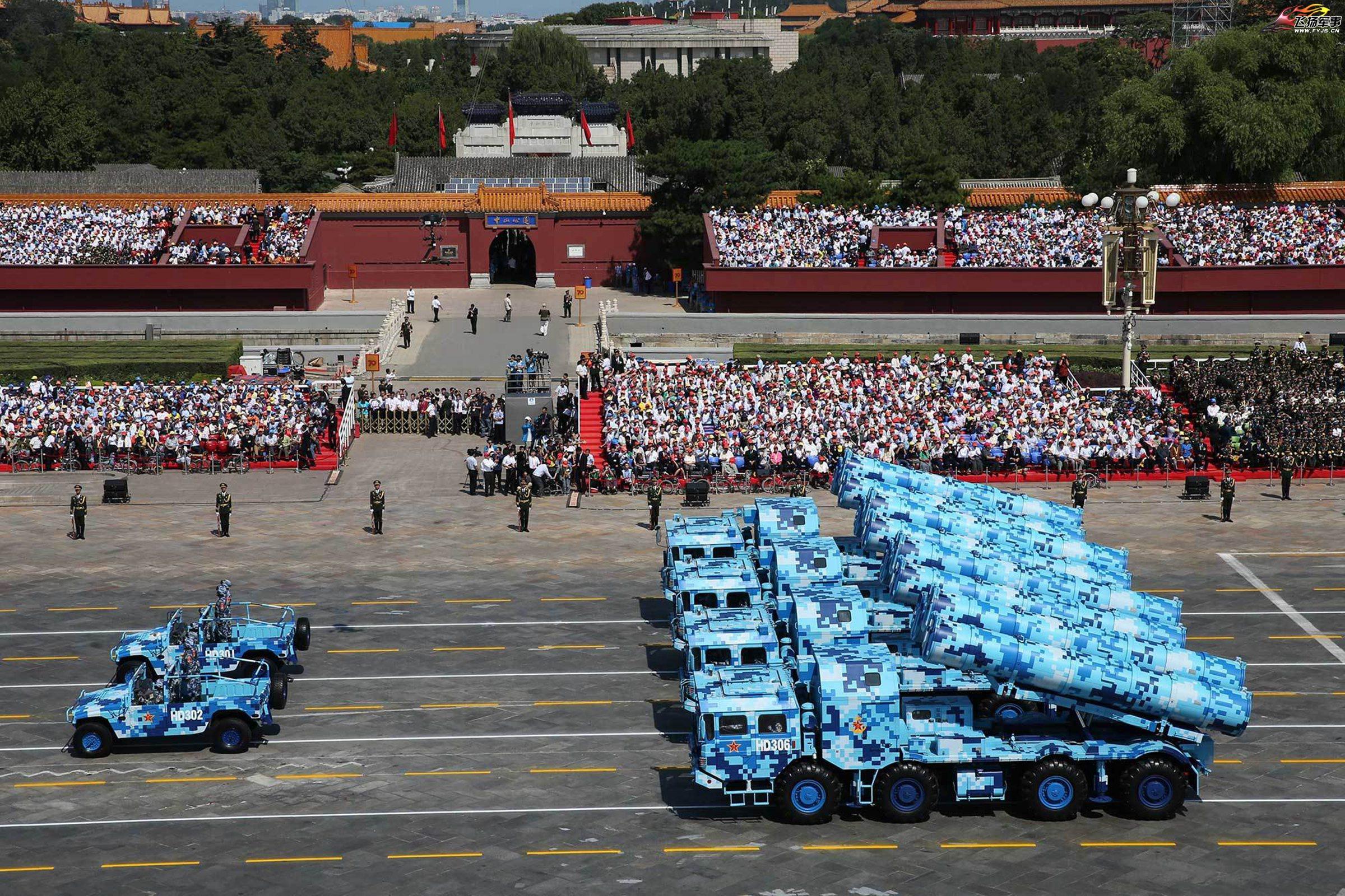 défilé en Chine