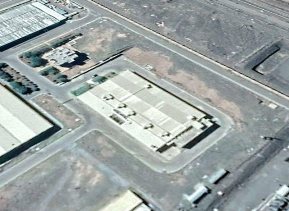 Инцидент на одном из объектов в районе иранского ядерного комплекса около