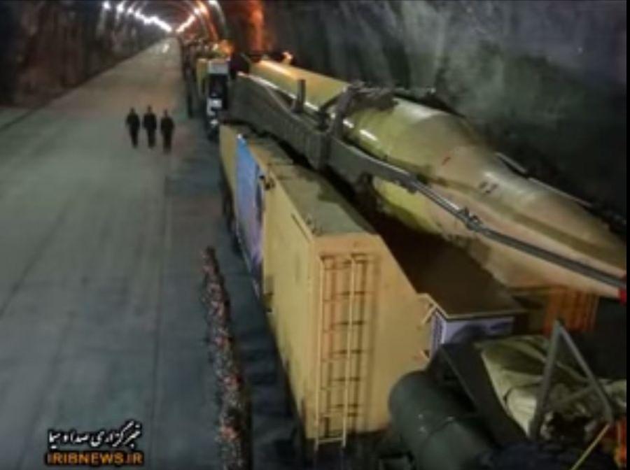 Подземные тоннели иранских ракетчиков