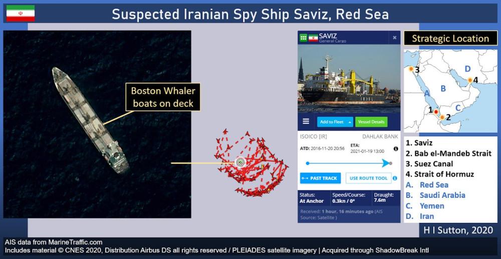 Продолжаются морские кошки-мышки между Израилем и Ираном..
