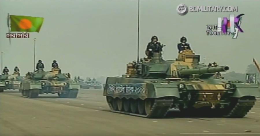 Военный парад в Бангладеш