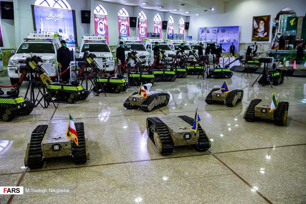 Выставка оборудования КСИР для обнаружения и обезвреживания взрывных устройств