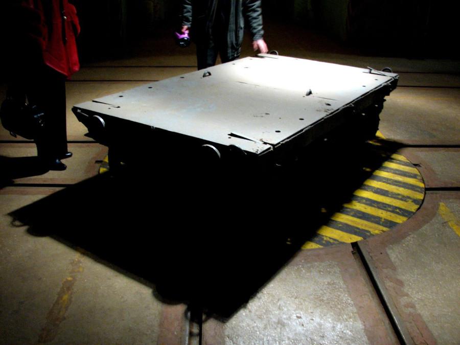 Секретный военный объект К-825.