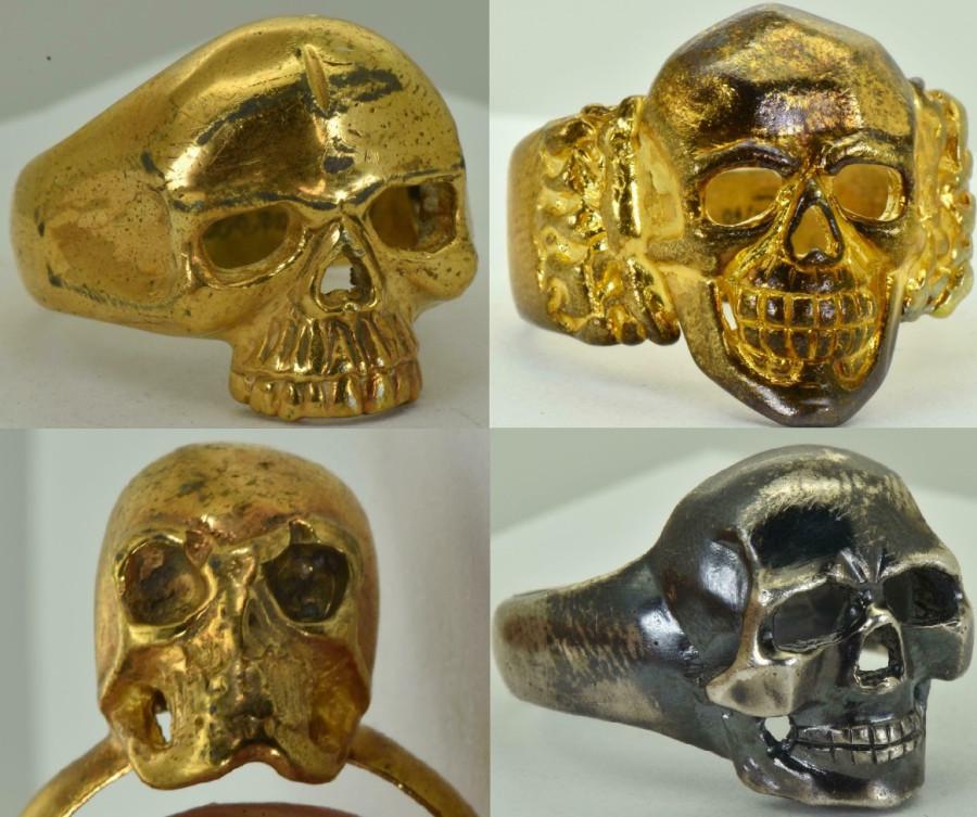 Что означает кольцо с черепом времен Первой Мировой Войны?