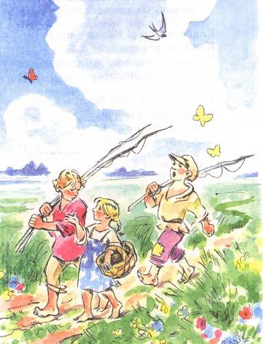 рыбацкие истории для детей