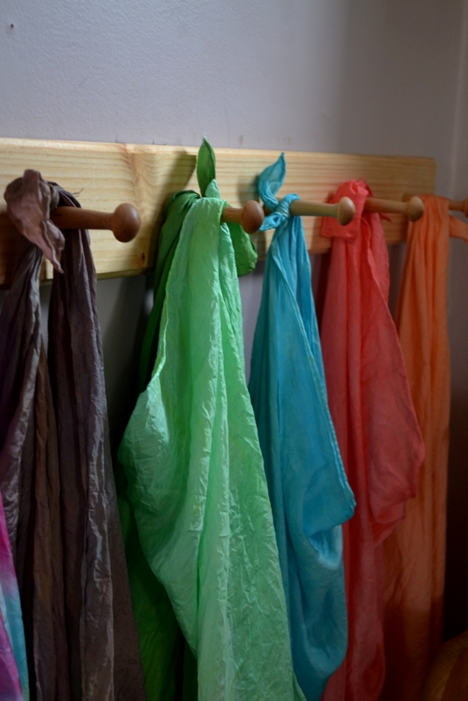Overdyeing Silks