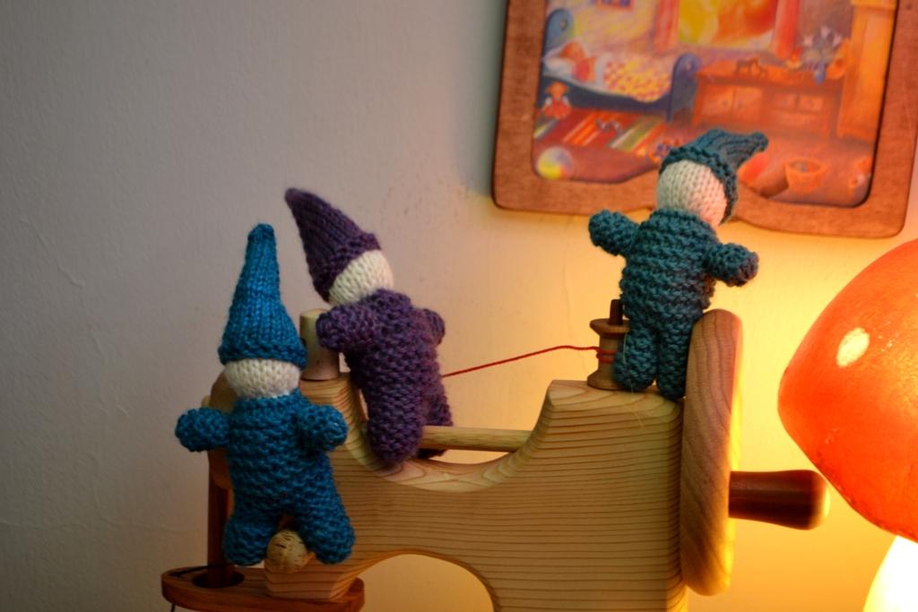 Sewing gnomes