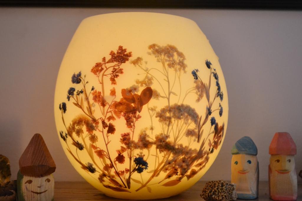 Beeswax lantern