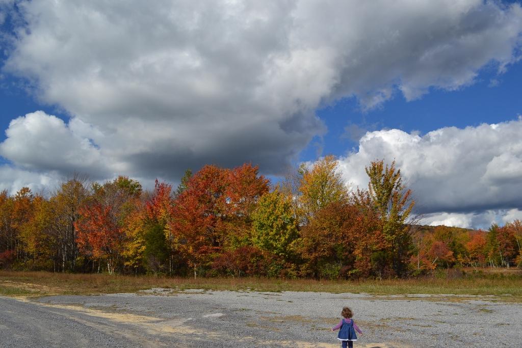 Laurel at her lake