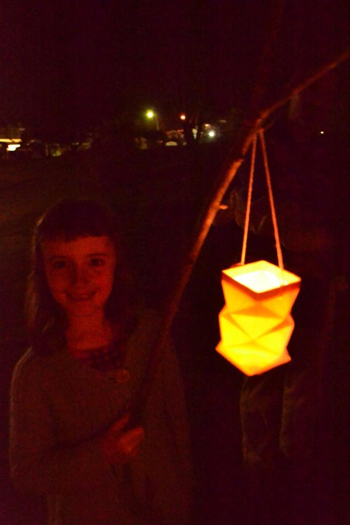 Lantern on a Stick