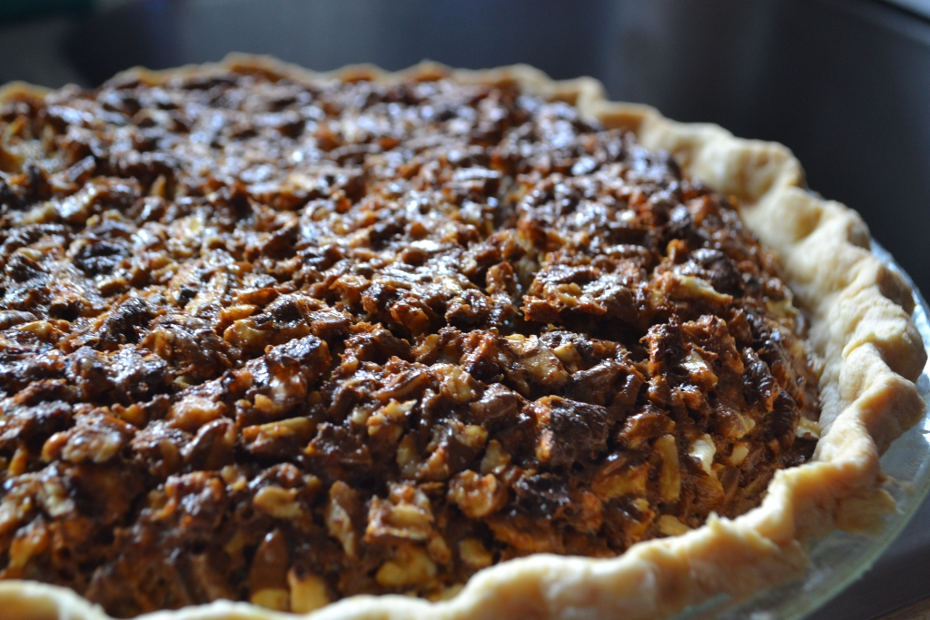 Extra Nutty Hickory Nut Pie