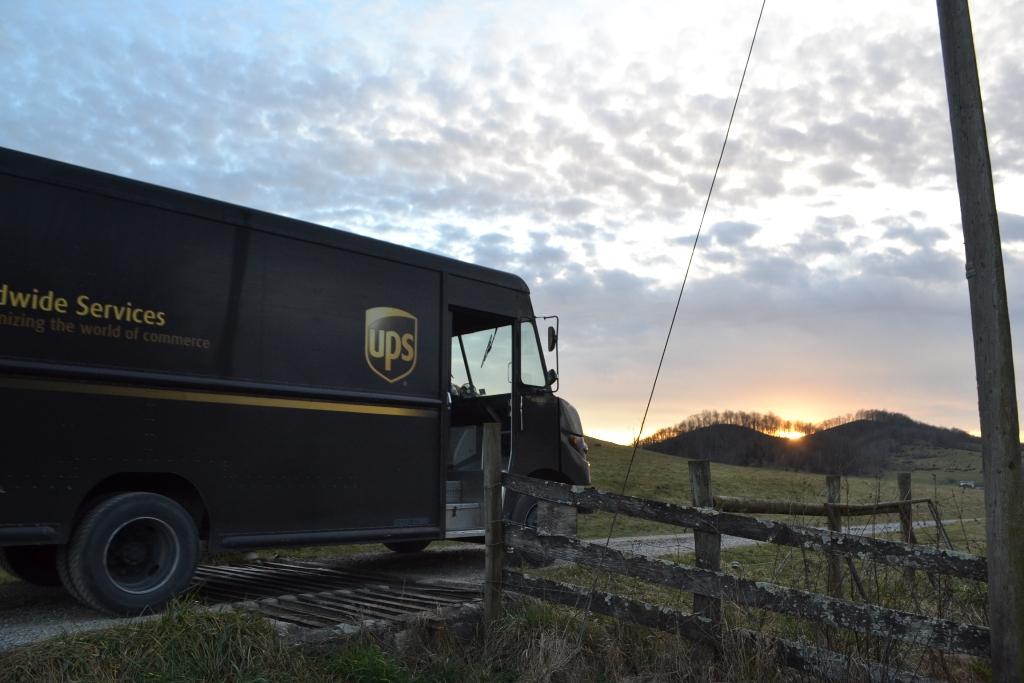 UPS on a Farm