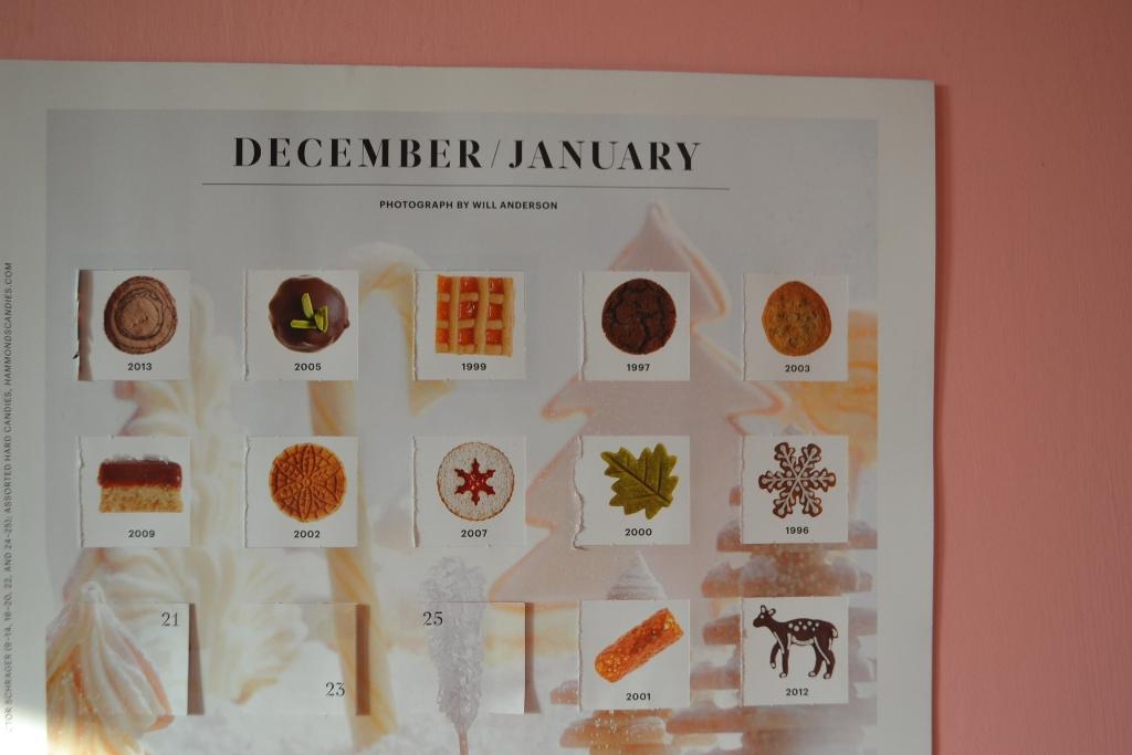 Cookie Calendar