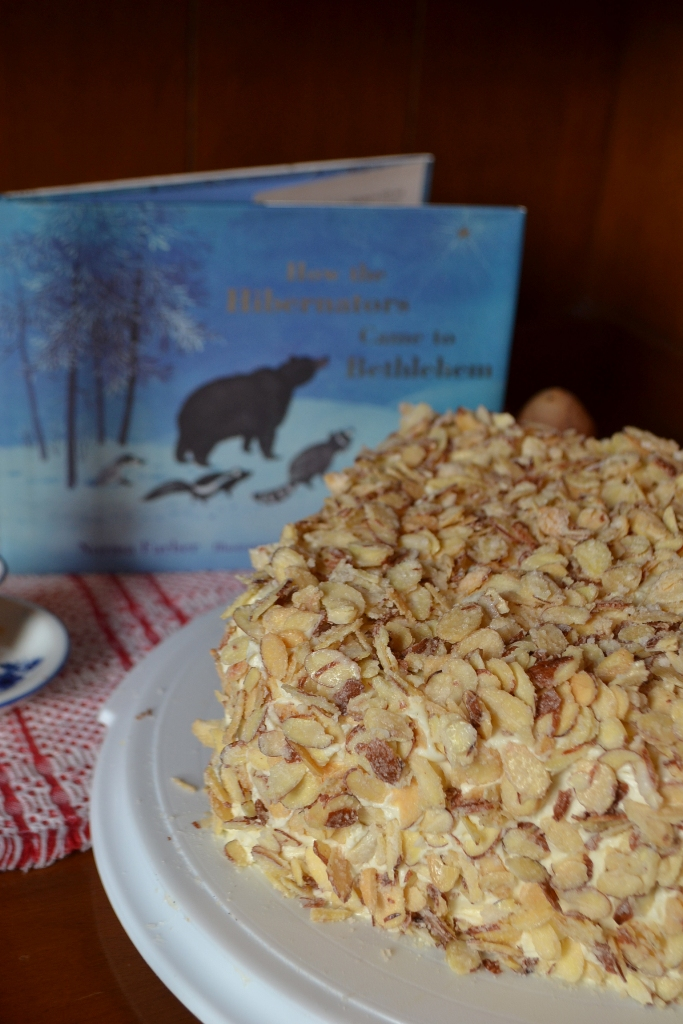 Burnt Almond Torte