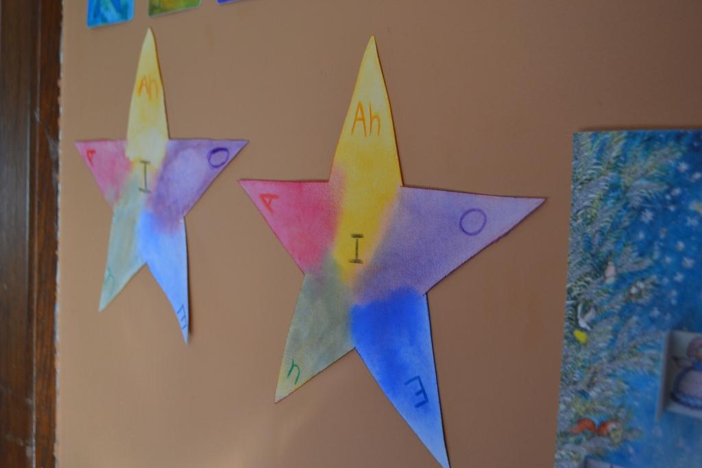 Vowel Star