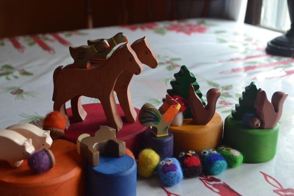 Animals on Bowls