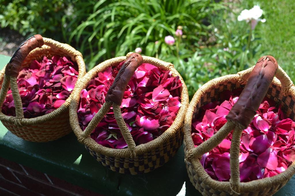Baskets of Petals