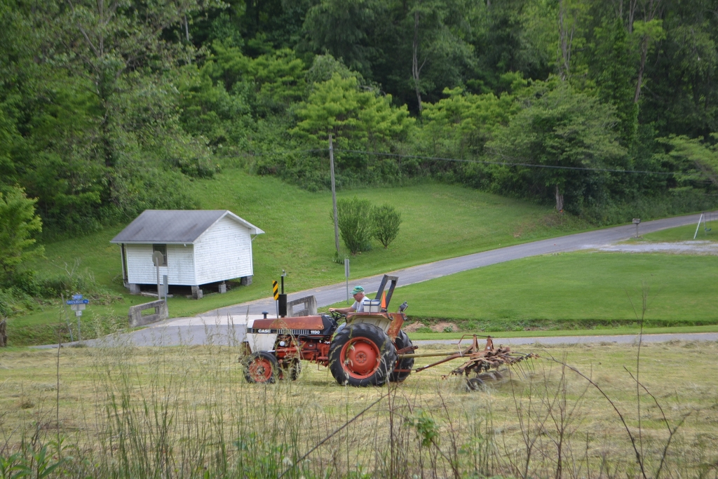 Turning the Hay