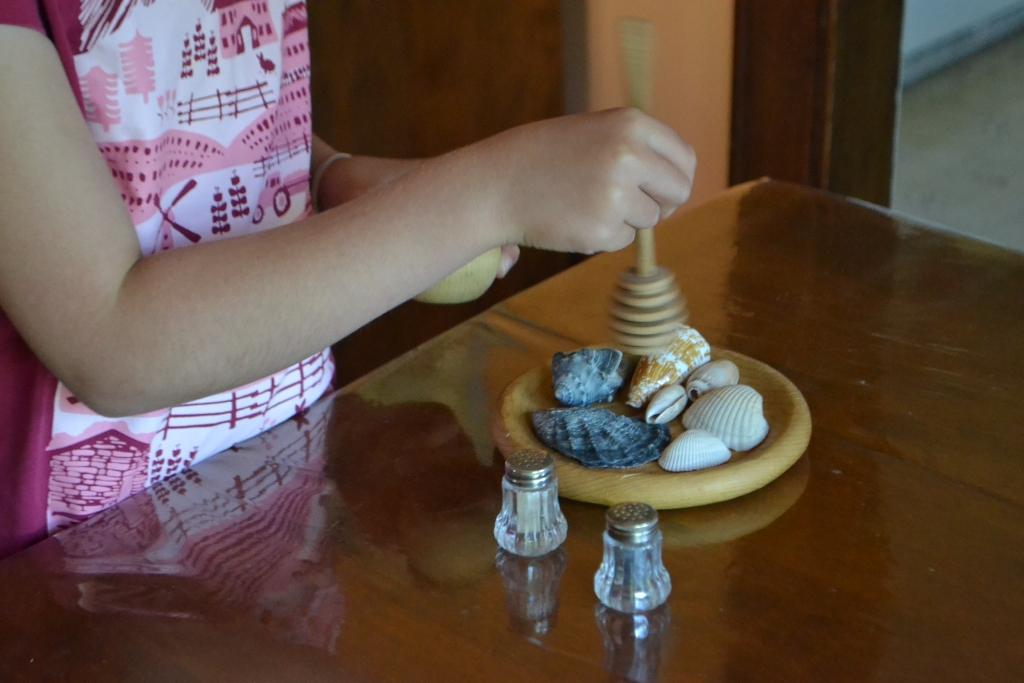 Honeyed Seashells