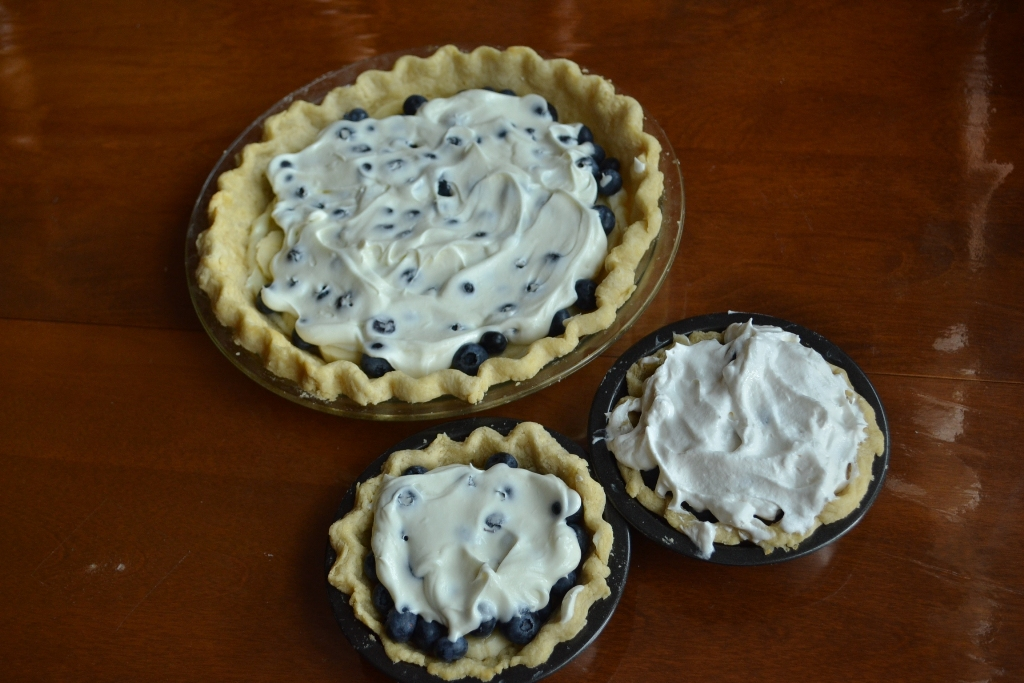 Blueberry Banana Pies