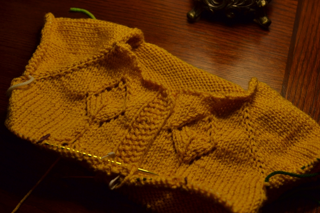 Laurel's Martinmas Sweater
