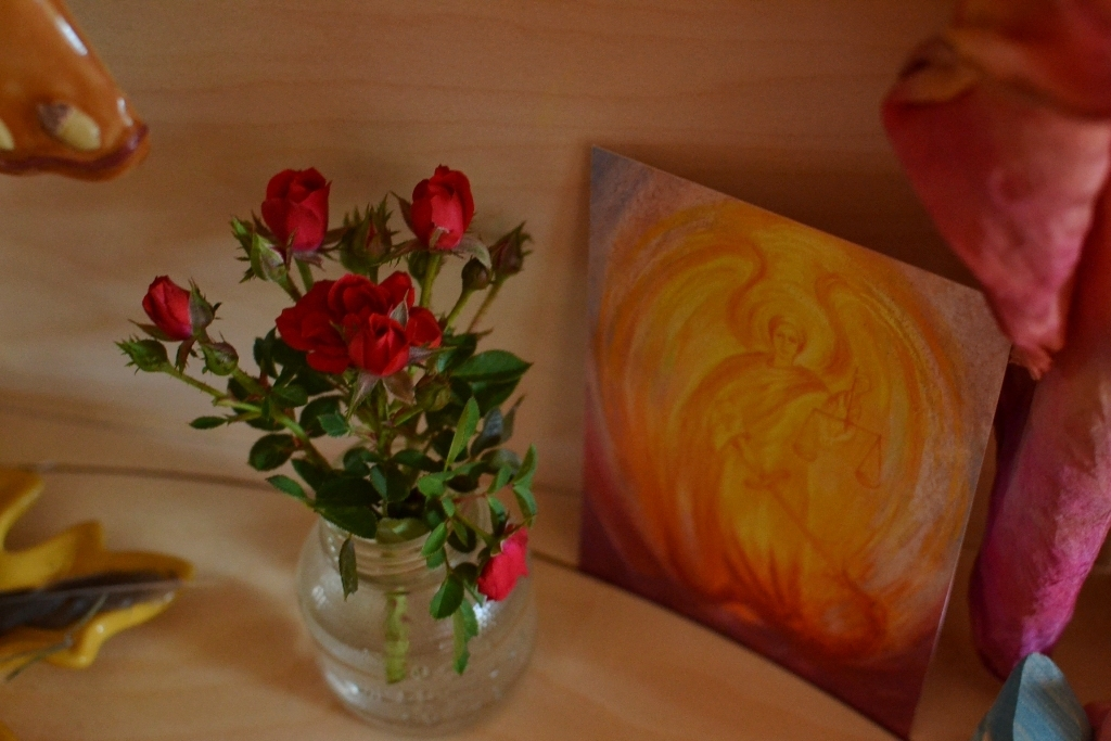 Red Roses Bright
