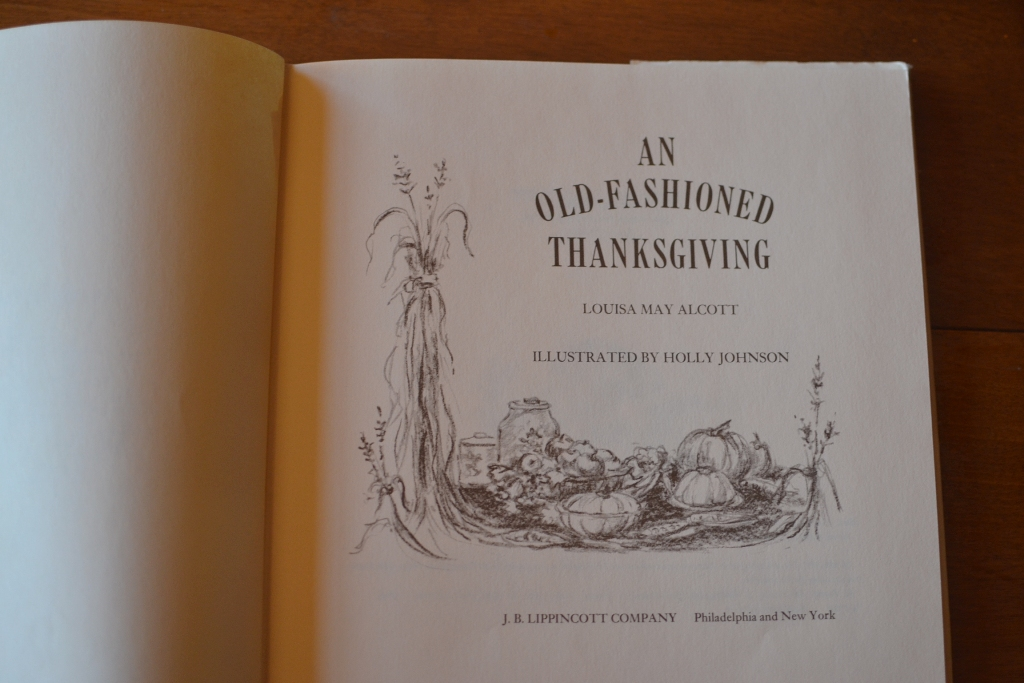 An Old-Fashioned Thanksgiving 1