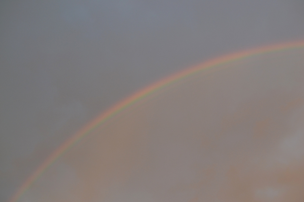 Fourth Sunday Rainbow
