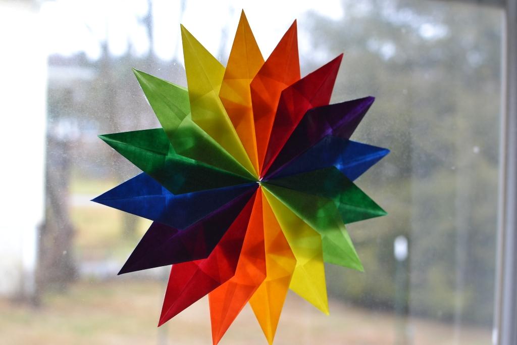 Rainbow Sixteen Point