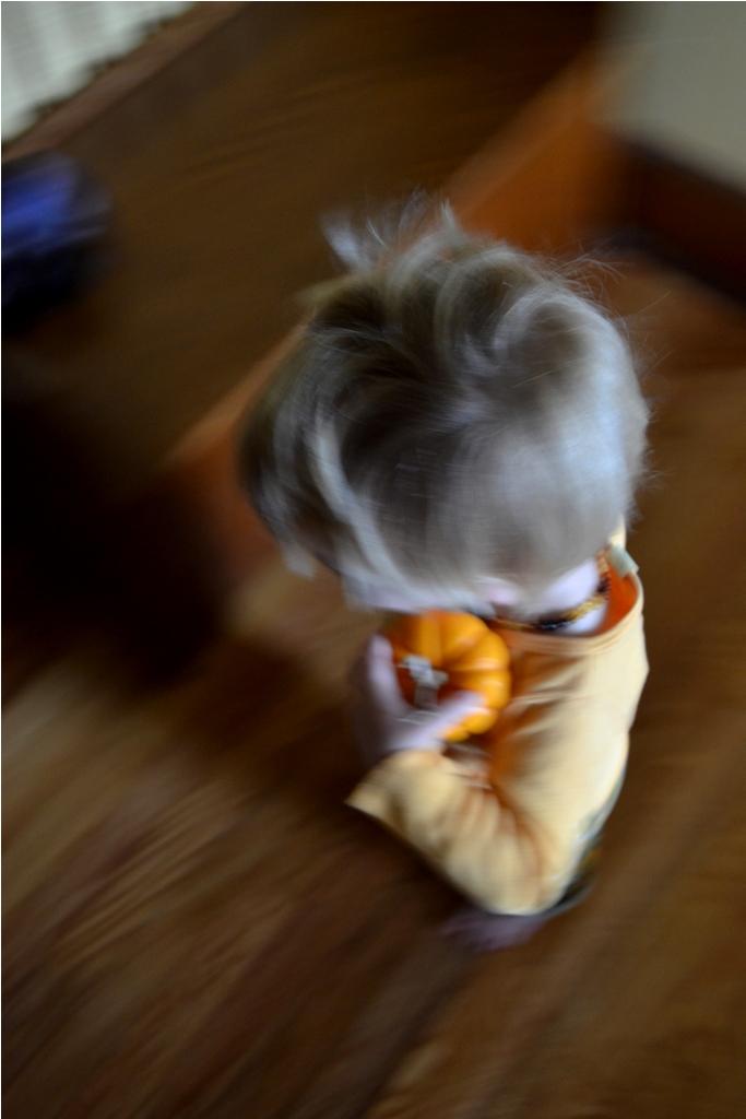 Boy blur
