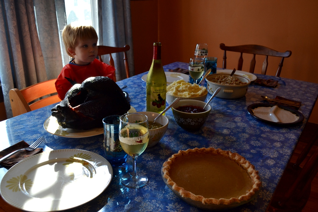 Roan waits for Thankgiving