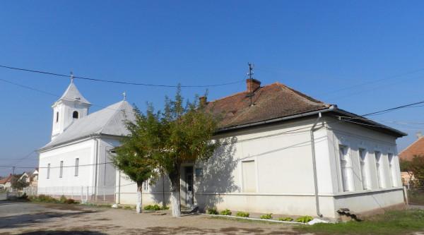 церква та будинок в Гечі