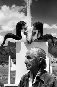Джорджия О`Киф_Нью-Мексико_1968