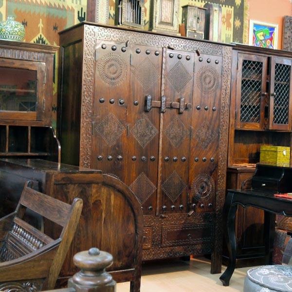 Шкаф в восточном стиле фото