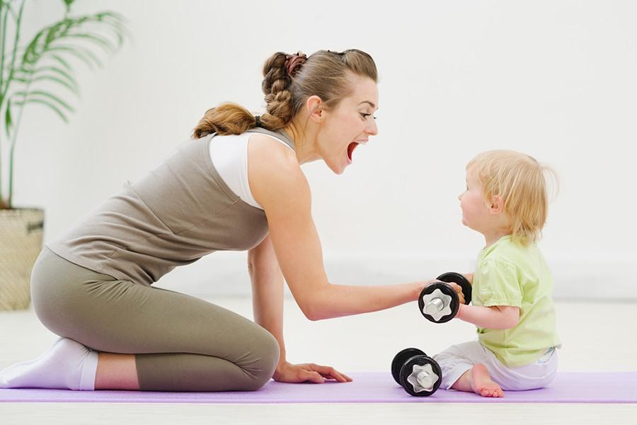 Почему надо тренироваться после родов?