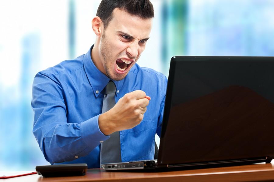 Как довести коллегу до истерики